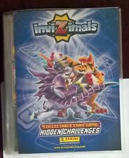 PANINI  INVIZIMALS  HIDDEN CHALLENGES ALBUM AND 311 TRADING  CARDS