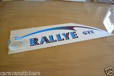 COMPASS Rallye Front Caravan Name Sticker Decal Graphic - SINGLE