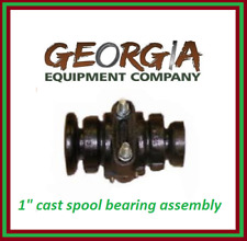 """DISC HARROW BEARING COMPLETE,1"""" SQUARE W/CAPS AND BOLTS  KING KUTTER 504110"""