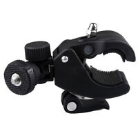 New Bicycle Handlebar Mount 1/4 Screw Clamp Bracket Tripod For Camera DV SLR