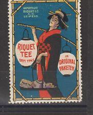 German Poster Stamp Tea China