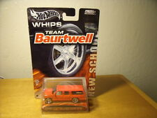 Hot Wheels Whips Team Baurtwell toy car Moc Mint On Card 2003 Chevy Suburban