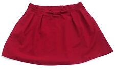 womens XL Lauren Conrad Red faux bow skirt pull on New elastic waist