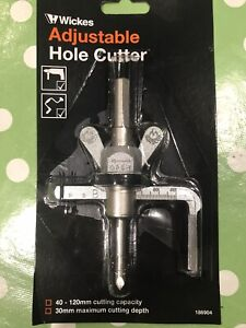 Wickes Adjustable Hole Cutter