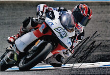 Louis Rossi main signé Matteoni Racing Aprilia 7x5 photo 125cc 2011.