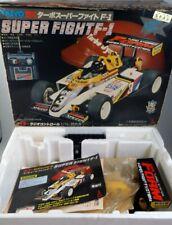 Vintage 80's Taiyo Japan 1/14 Super Fight F-1 R/C Tyco Indy Tamiya Nikko