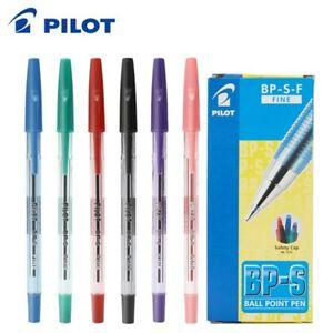 (Choose 12 Pen) x Pilot BP-S 0.7mm Fine Ball Ballpoint Pen, 6 Colours Available