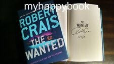 SIGNED The Wanted by Robert Crais, autographed, new