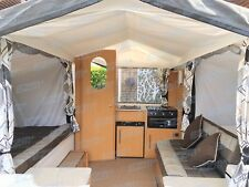 2014 Pennine Fiesta 2+2 4 Berth Folding Camper Trailer Tent with Awning & Toilet