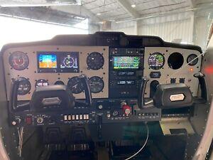 Cessna 150/152 Instrument Panel Design - Laser Cut - Aluminum
