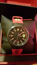 Ferrari Men's 0840003 Pit Crew Watch with Red Band (DR5 P6-J