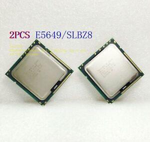 2X Intel Xeon E5649 / 2.53GHz /12MB / QPI 5.86GT/s (SLBZ8) 1366 Server Processor