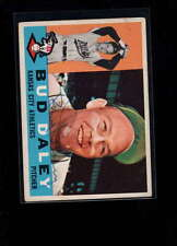 1960 TOPPS #8 BUD DALEY AUTHENTIC ON CARD AUTOGRAPH SIGNATURE AX1965