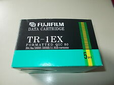 Fujifilm tr-1 EX CARTUCHO DE DATOS,QIC 80 ,500MB/1GB Compressed,5 Stck #k-11-3