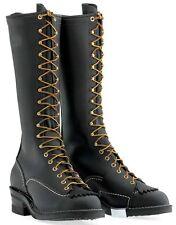 """Wesco Highliner 16"""" Black Boot #430 Vibram Sole 9716"""