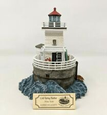 2001 Harbour Lights Society Cold Spring Harbor Ny #533 Lighthouse Figurine Fw20