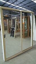 Aluminium Sliding Door 2095mm H x 1810mm W (PRIMROSE)