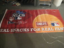 EXTREMELY RARE  HTF 2013 MLB NLCS  CARDINALS/DODGERS PLAYOFF BANNER