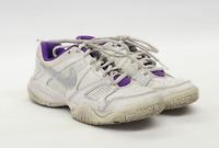 Nike Girls UK Size 3 White Leather Trainers