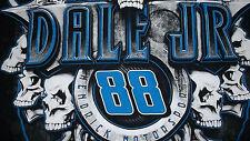 Uncommon Dale Earnhardt Jr Skulls NASCAR racing T-Shirt L Hendrick Motorsports