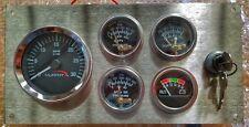 Murphy Marine Mechanical Gauge Panel Tachometer - Oil Pressure - Temp - Voltmete