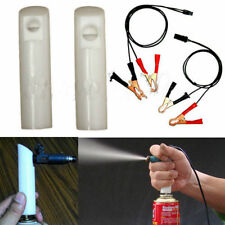 **Universal Auto Car Fuel Injector Flush Cleaner Adapter DIY Cleaning Tool Kit