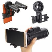 Portable Smart Phone Telescope Mount Binocular Monocular Spotting Scope Adapter