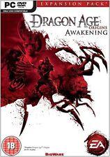 Dragon Age Origins: Awakening (PC-DVD) BRAND NEW SEALED EXPANSION