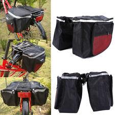 Sacoche Double Imperméable Pour Porte-bagages Arrière De Vélo Rack Panier ZH