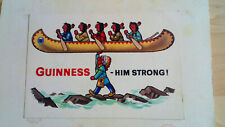 Original Guinness postcard Made in Dublin Ireland Ormond