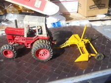 Vintage Ertl IH International Farm Toy Tractor Custom made Lazer Land Leveler