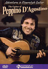 The Guitar Of Peppino D'Agostino Tuition DVD Adventures in Fingerstyle