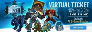 Blizzcon 2016 Goodies Legionnaire & Knight-Captain Murky WoW Pets, same day+