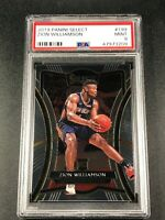 ZION WILLIAMSON 2019 PANINI SELECT #199 ROOKIE RC PSA 9 NEW ORLEANS PELICANS NBA