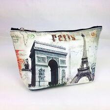 Kosmetiktasche Arc de Triomphe Eiffelturm Paris France Beauty Case Makeup Bag