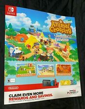 "Animal Crossing New Horizons 28"" X 24"" Poster GameStop Nintendo Switch Poster"
