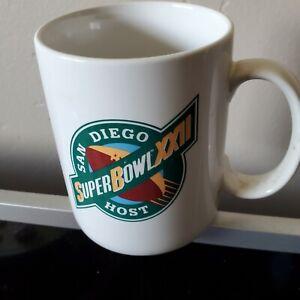 San diego host  Super Bowl xxll Coffee Mug free ship,u.s.