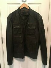 Men's 7 Diamonds Leather Jacket XL / XXL