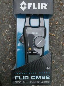 FLIR CM82 Power Clamp Meter VFD 600 Amp Test Meter Electrical Tester  NEW IN BOX
