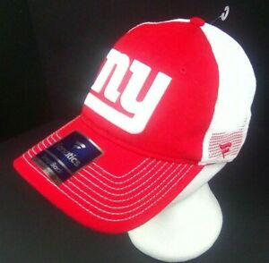 NFL Fanatics Embroidered SNAPBACK Baseball Cap Hat ONE SIZE FITS MOST Red/White