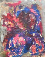 MODERN CONTEMPORARY ABSTRACT PAINTING BY GONIEL (16'' X 20'')