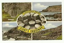 Greetings from Giant's Causeway old postcard.
