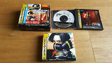 The King of Fighters Best Collection BSA 95 96 97-SEGA SATURN NTSC cib