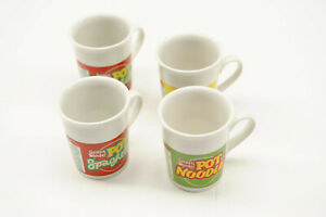 Promotional Golden Wonder Super Noodles mugs, set of 4 in original box