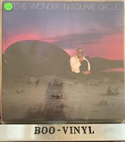 Stevie Wonder In Square Circle Vinyl Album LP Funk Soul Motown 1985 Ex Con