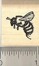 Honey Bee Rubber Stamp, Small A3310 WM