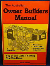 The Australian Owner Builders Manual by Allan Staines (Paperback, Reprint 1997)