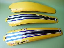 Garde Boue Arrière jaune TXT125-2000 pièce origine Gasgas (en haut photo)