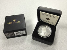 2012 Canada $20 Fine Silver Coin - The Queen's Diamond Jubilee w/ Crystal