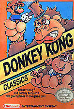 Donkey Kong Classics (1988) Game Only